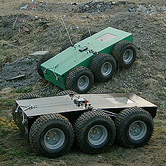 6x6 High mobility radio controlled vehicles