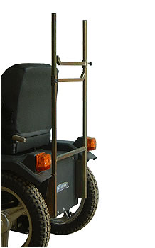 Wheelchair holder for Tramper scooter