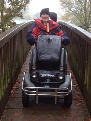 Judi at Hinchingbrook Country Park - Beamer Ltd